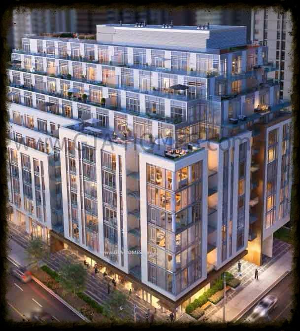 The Jack Condominiums in Rosedale Yorkville Deerpark